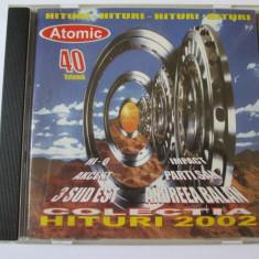 CD ATOMIC COLECTIA HITURI 2002 - Muzica Pop Altele