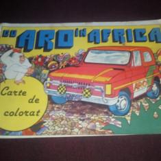 CU ARO IN AFRICA CARTE DE COLORAT