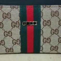 Portofel Gucci - Portofel Dama Gucci, Culoare: Gri