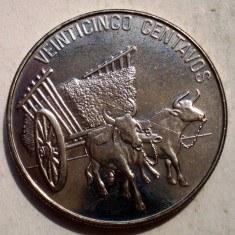 B.894 REPUBLICA DOMINICANA 25 CENTAVOS 1991 XF/AUNC, America Centrala si de Sud