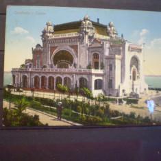 CONSTANTA - CAZINOUL - UNION POSTALE UNIVERSELLE - ED. HOROVITZ- CIRCULATA - Carte Postala Dobrogea 1904-1918, Fotografie