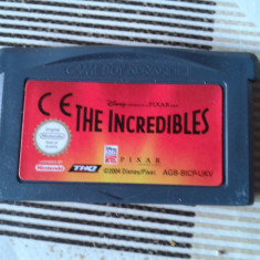 Vand jocuri nintendo gameboy advance, THE INCREDIBLES - Jocuri Game Boy Activision, Curse auto-moto, 3+, Single player