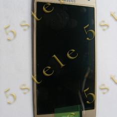 Display Samsung Galaxy A5 A500 2015 auriu ecran cu touchscreen original - Display LCD