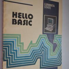 Hello basic - Luminita State - 1993