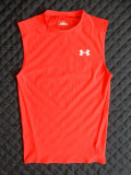 Tricou Under Armour HeatGear; marime L; 82% poliester, 18% elastan, Maneca scurta