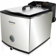 Friteuza Taurus AquaFry, 2000W, inox, sistem apa - ulei