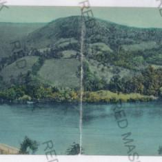1111 - Caras-severin, ORAVITA - Double old postcard - used - 1909 - Carte Postala Banat 1904-1918, Circulata, Printata