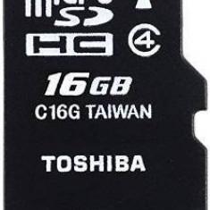 Toshiba Stick THN-M102K0160M2, M102, 16GB, microSD, Cls4 + adapter - Stick USB