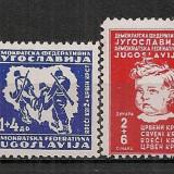 Iugoslavia.1945 Crucea Rosie CI.570, Nestampilat
