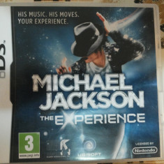 Vand joc nintendo ds, nou, MICHAEL JACKSON - Jocuri Nintendo DS Activision, Arcade, 3+, Single player