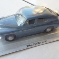 Macheta Warszawa M-20 - 1955 Masini de Legenda - Polonia 1:43