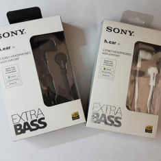 Casti audio SONY, Casti In Ear, Cu fir, Mufa 3, 5mm