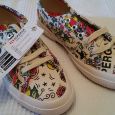 Tenisi superga originali - Tenisi dama Superga, Culoare: Din imagine, Marime: 37