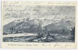544 - Hunedoara, HATEG, Retezat Mountain - old postcard - used - 1909, Circulata, Printata