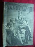 D.Dragomirescu - Sanatatea Familiei ,cca.1944 Ed.Graiul Literar ,coperta Dicu