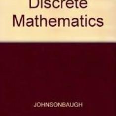 Richard johnsonbraugh discrete mathematics 1990 - Carte Matematica
