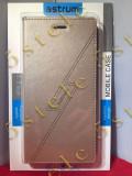 Husa Flip Astrum FC GLITTER Apple iPhone 6/6s Plus Gold