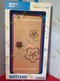 Husa Capac Astrum BLOSSOMING Apple iPhone 6/6s Plus Gold