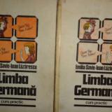 LIMBA GERMANA CURS PRACTIC 2 VOL AN 1985/880PAG= EMILIA SAVIN / IOAN LAZARESCU - Curs Limba Germana