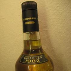 Whisky glen grant, distilled 1982, 5 yeard . pure malt, cl 75 gr 40