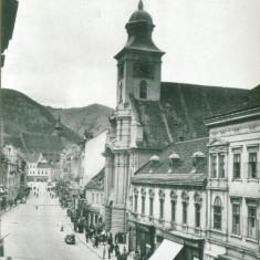 ORASUL STALIN - Carte Postala Transilvania dupa 1918, Circulata, Fotografie