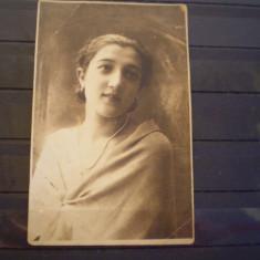 PORTRET DE DOMNISOARA - CARANSEBES - 1927 - CIRCULATA .