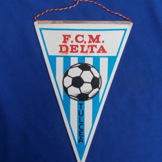 FANION FOTBAL * F.C.M. DELTA TULCEA
