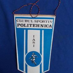 FANION FOTBAL * C.S. POLITEHNICA IASI