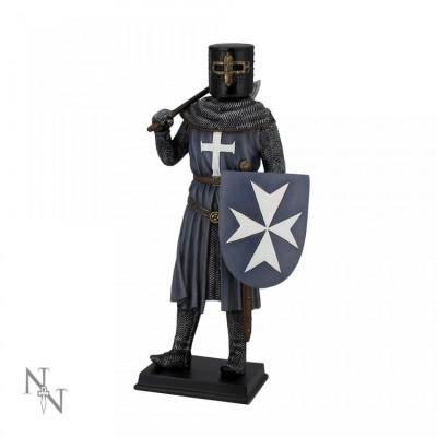 Statueta Cavaler Medieval Cruciat foto