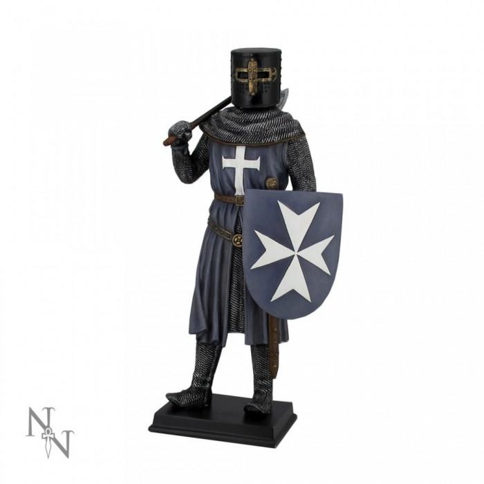 Statueta Cavaler Medieval Cruciat foto mare