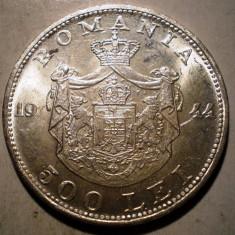 R.187 ROMANIA MIHAI I 500 LEI 1944 XF/AUNC ARGINT 12g - Moneda Romania
