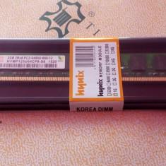 Memorie PC HYNIX 2GB DDR2 - 800MHZ PC2-6400, Noi Sigilate Factura si Garantie. - Memorie RAM AMD