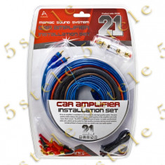 Set Cablu Auto HI-FI (21 buc)