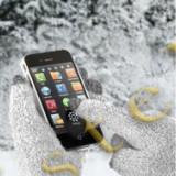 Manusi Speciale pentru Afisaje Tactile (Touchscreen) Alb