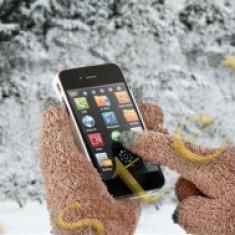 Manusi Speciale pentru Afisaje Tactile (Touchscreen) Maro