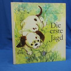 CARTE COPII IN GERMANA / WITALI BIANKI - DIE ERSTE JAGD - BERLIN - 1966 - Carte educativa