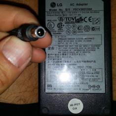 55.Alimentator Monitor Samsung 12V 3A 36W PSCV360104A LCAP07F + Cablu Alimentare