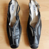 Pantofi Gabor piele naturala; marime 42,28 cm talpic interior;impecabili, ca noi