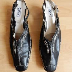 Pantofi Gabor piele naturala; marime 42, 28 cm talpic interior;impecabili, ca noi - Pantof dama, Culoare: Din imagine
