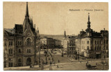 CARTE POSTALA VECHE CU ORASUL CLUJ-NAPOCA, Necirculata, Printata, Cluj Napoca