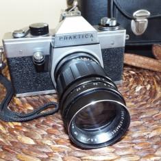 Aparat foto film PRAKTICA L cu obiectiv TELE STRATOCOLOR - Aparat Foto cu Film Praktica