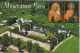 Bnk cp Manastirea Secu - Vedere - necirculata, Printata, Vanatori Neamt