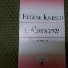 TEATRU III (RINOCERII) de EUGENE IONESCO 1996/TD - Carte Cinematografie