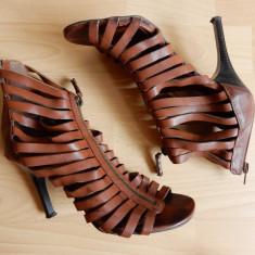 Sandale Graceland; marime 37 (24 cm talpic interior) - Sandale dama, Culoare: Din imagine