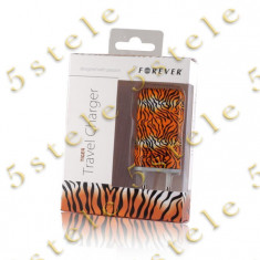 Incarcator Retea USB 1A Forever model - Tiger Blister