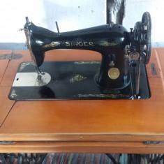 Maşină de Cusut Singer Nemțească Clasa 15, anul fabricației 1927
