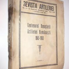 Revista artileriei nr. 11-12 nov-dec 1943 - Centenarul renasterii artileriei