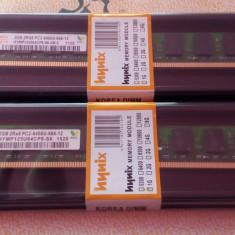 Memorie PC HYNIX 4GB(2x2GB)DDR2-800MHZ PC2-6400, Dual Channel, NOI Garantie 12Luni - Memorie RAM AMD