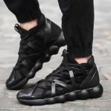Adidasi Fashion Running. COD Bounce Black. COLECTIA NOUA! - Adidasi barbati, Marime: 44, Culoare: Negru, Textil