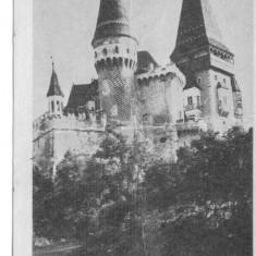HUNEDOARA CASTELUL HUNIAZILOR - Carte Postala Transilvania dupa 1918, Circulata, Fotografie